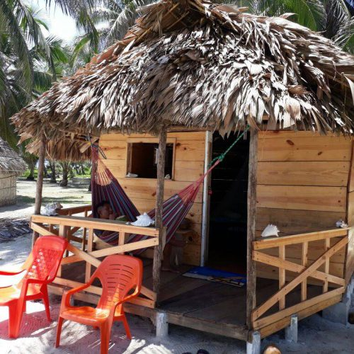 isla chichime hut