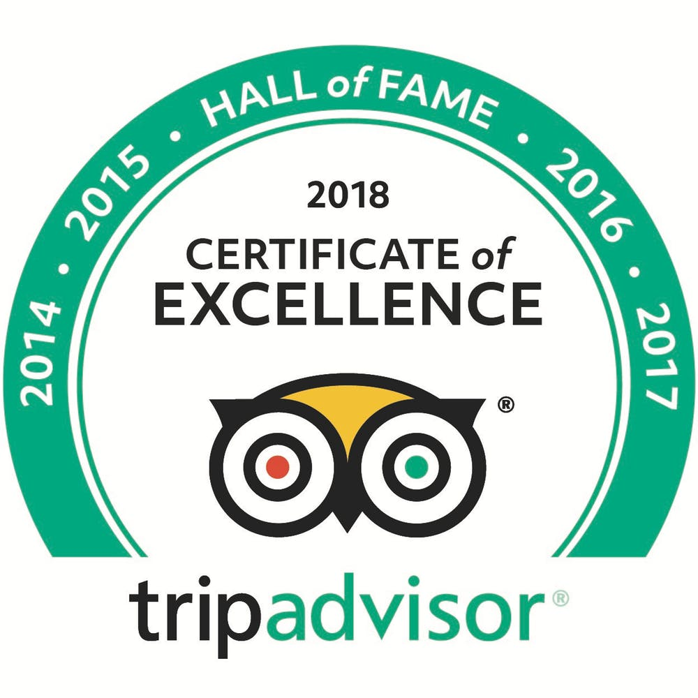 Cacique Cruiser is in the Hall of Fame on Tripadvisor
